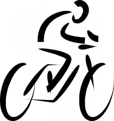 free vector Bicycle Exercise clip art