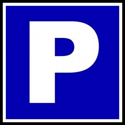 Parking clip art
