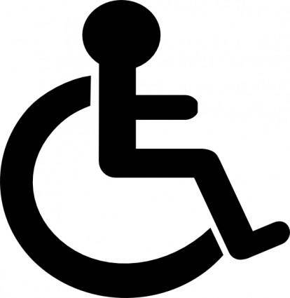 free vector Disability Sign clip art