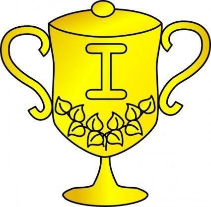 Trophy Award Cup clip art
