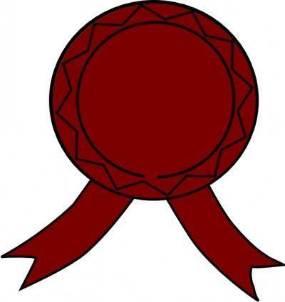 Medallion Award clip art