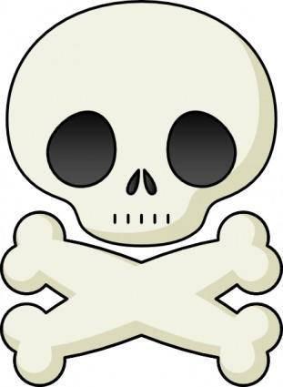 Cute Skull clip art