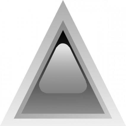 Led Triangular 1 (black) clip art
