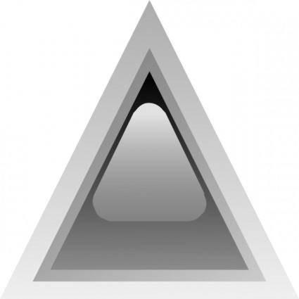 free vector Led Triangular 1 (black) clip art