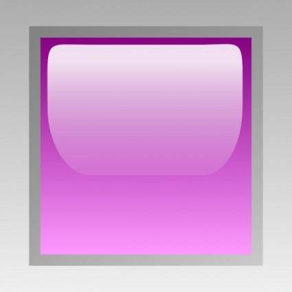 Led Square (purple) clip art