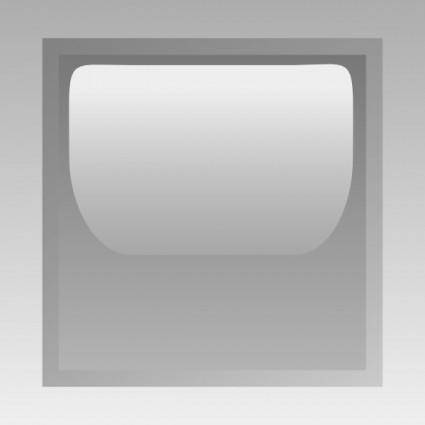 free vector Led Square (grey) clip art