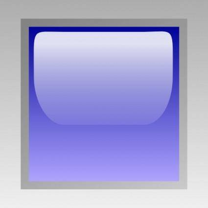 Led Square (blue) clip art