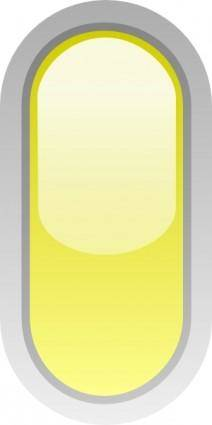 Led Rounded V (yellow) clip art
