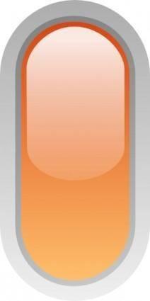 free vector Led Rounded V (orange) clip art