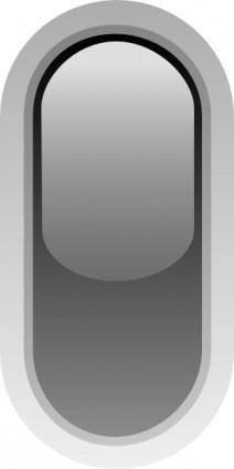 free vector Led Rounded V (black) clip art