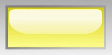 Led Rectangular H (yellow) clip art
