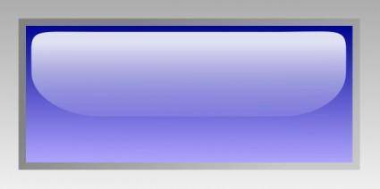 free vector Led Rectangular H (blue) clip art