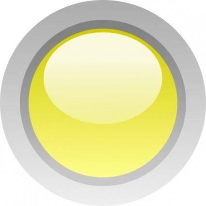 free vector Led Circle (yellow) clip art