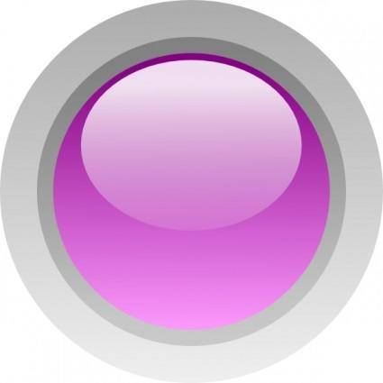 Led Circle (purple) clip art