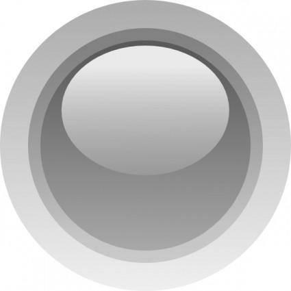 Led Circle (grey) clip art