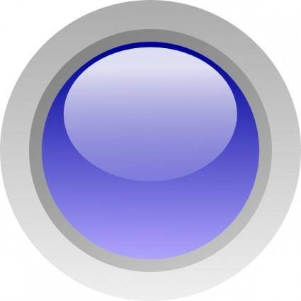 Led Circle (blue) clip art