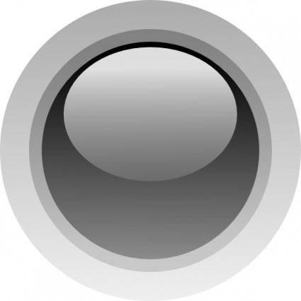 Led Circle (black) clip art