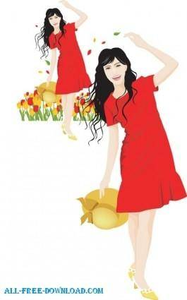 Free fashion vector 338