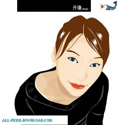 Free fashion vector 348