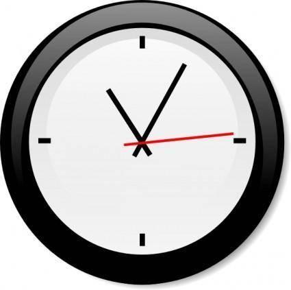 free vector Modern Clock clip art