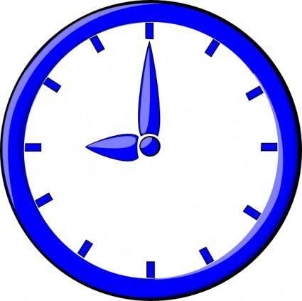 9 O'clock clip art