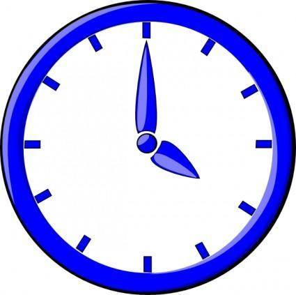 Clock12 clip art