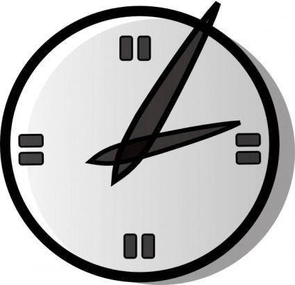 Analogue Clock clip art