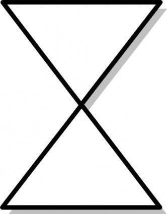 Collate Flow Chart Symbol clip art