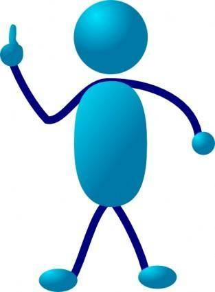 free vector Stick Man clip art
