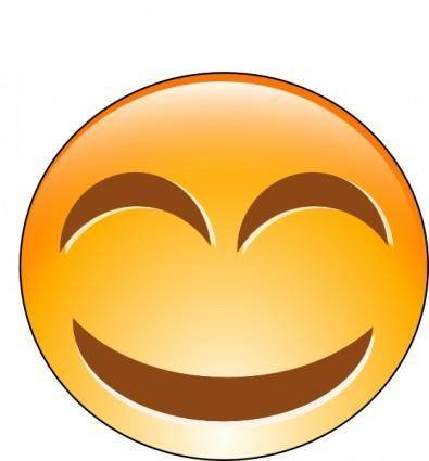 Laughing Smiley clip art