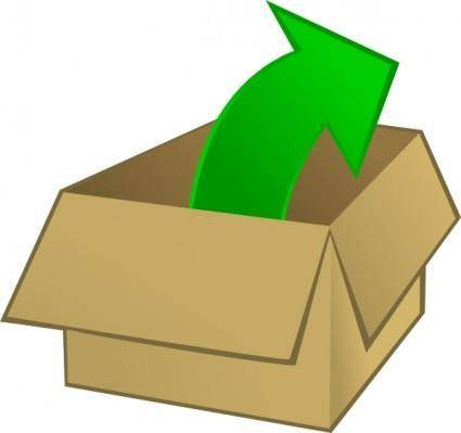 free vector Out Of The Box clip art