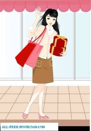 Free fashion vector 363