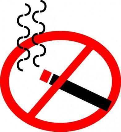 No Smoking clip art