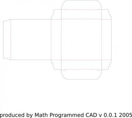 free vector Mpcad Box 60x15x60 clip art
