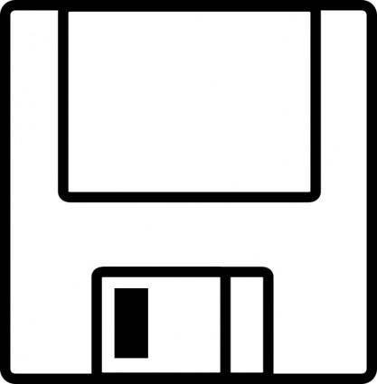 Floppydisk clip art