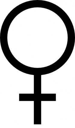 Female Symbol clip art