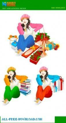 Free fashion vector 365