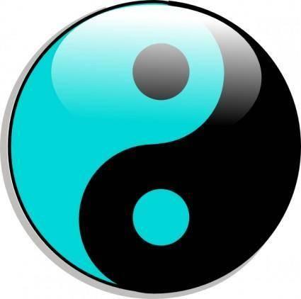 Yin Yang clip art