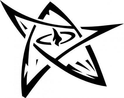 free vector Elder Sign clip art
