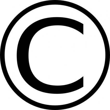 free vector Copyright clip art