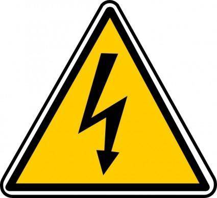 High Tension Danger clip art