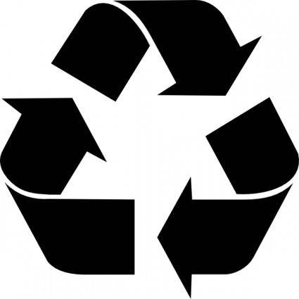 free vector Recycling_symbol clip art