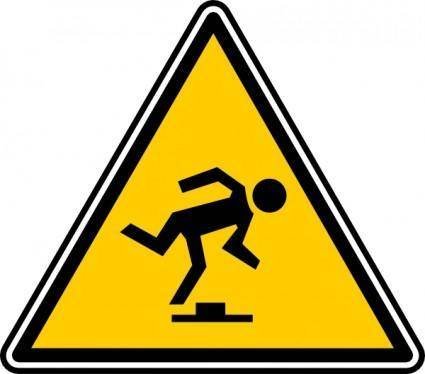 free vector Tripping Hazard clip art