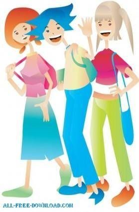 Free fashion vector 372
