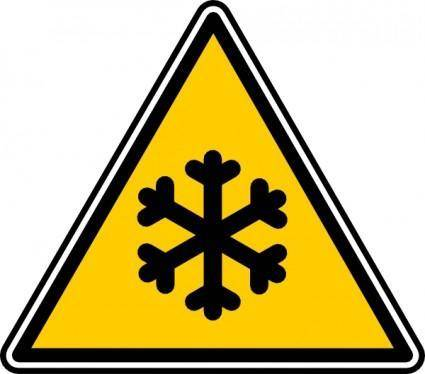 Low Temperature clip art