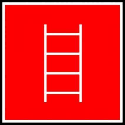 Ladder Sign clip art