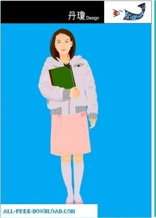 Free fashion vector 376