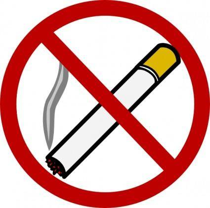 free vector No Smoking clip art