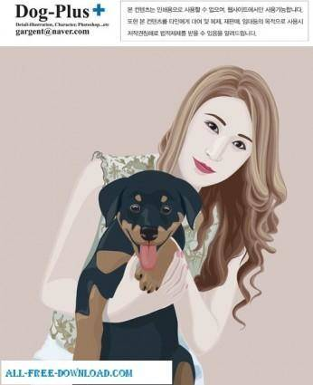 Free fashion vector 379