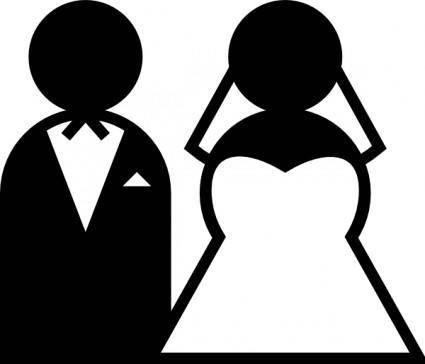 free vector Wedding Sign clip art